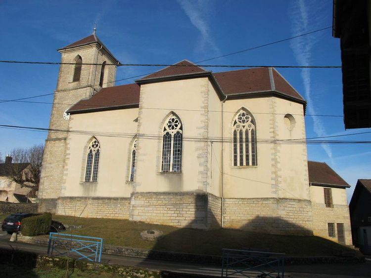 Eglise saint Germain à Autechaux
