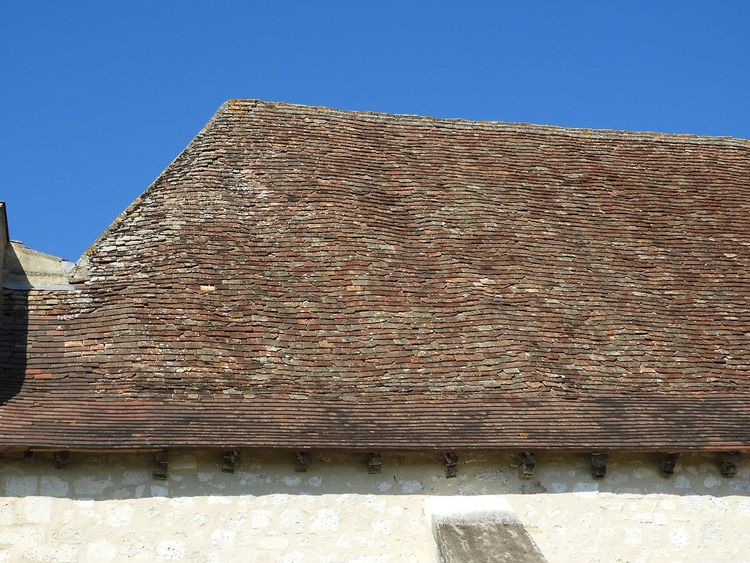 Toit - église de Tourliac