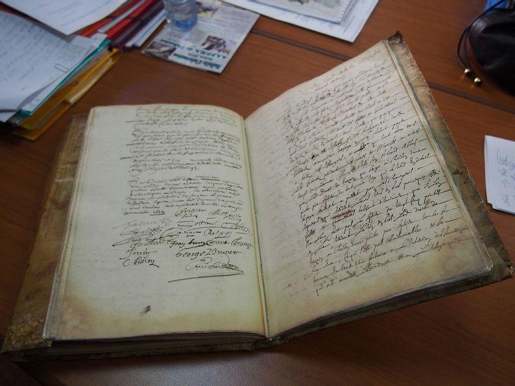 Fonds ancien de la commune de Saint-Rambert-en-Bugey dans l'Ain