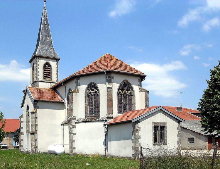 Eglise Saint-Basle de Dombasle-en-Xaintois dans les Vosges