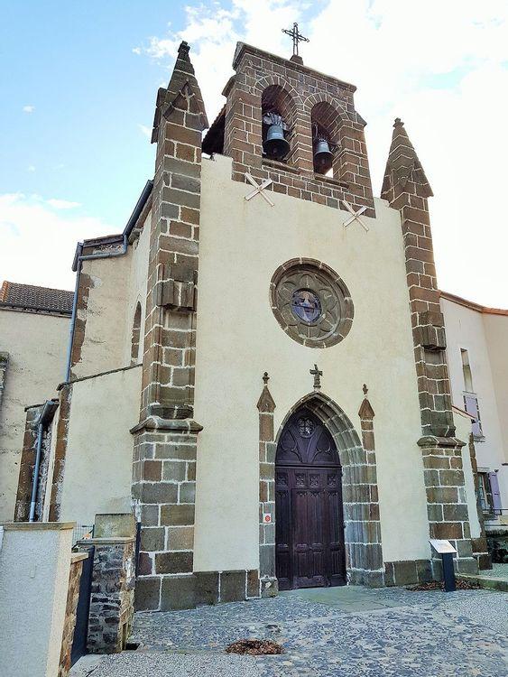Eglise Saint-Sulpice de Cussac-sur-Loire