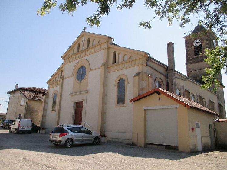 Eglise Saint Joseph de Faramans en Isère