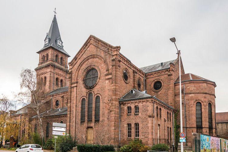 Eglise Saint-Martin de Saint-Dié-des-Vosges dans les Vosges