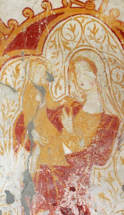 Peintures murales de l'église de Taxat
