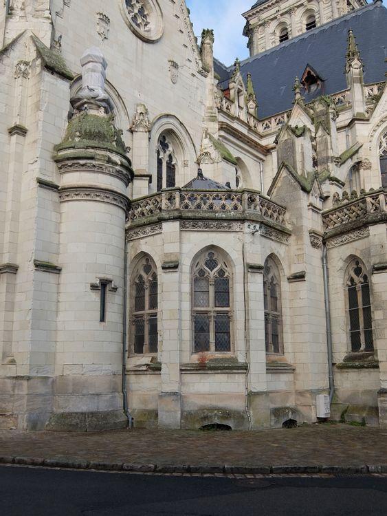 chapelle rayonnante église Notre Dame