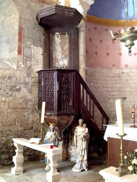Eglise de Blanzaguet à Pinsac dans le Lot