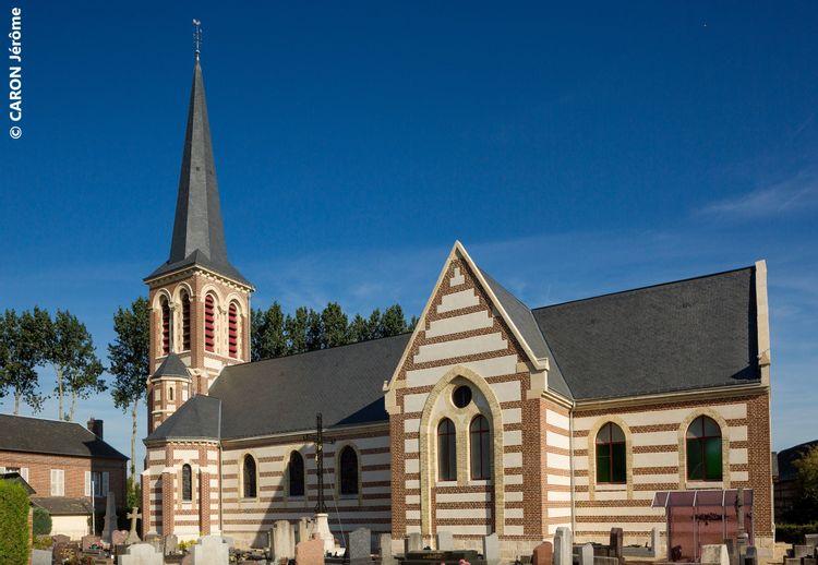 L'église Notre-Dame de Flamanville