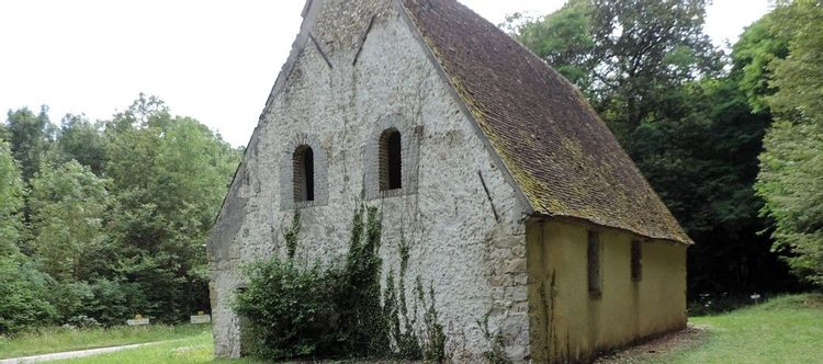 vue de la chapelle saint-léonard