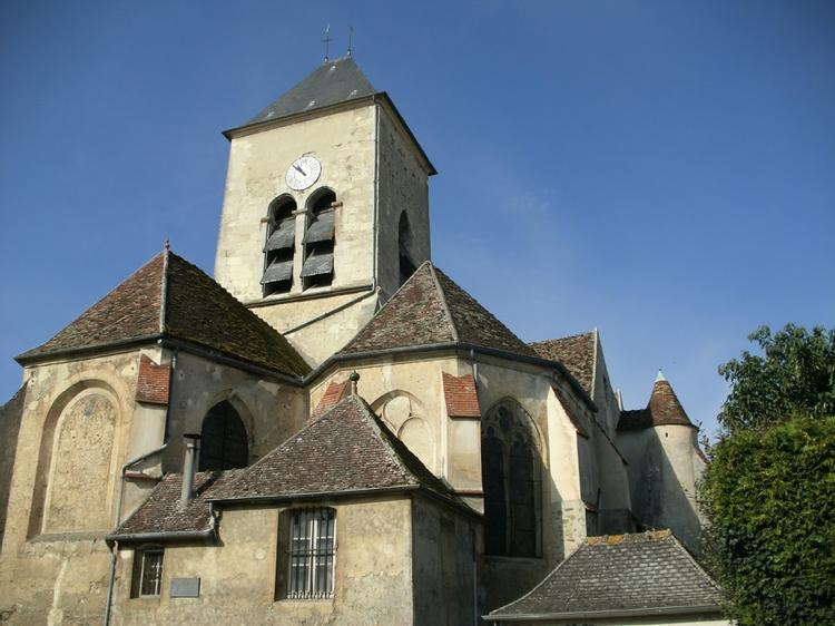Vitraux de l'église d'Ussy-sur-Marne