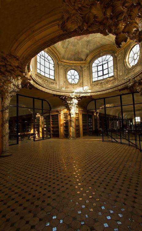 Coupole de la bibliothèque du lycée Henri-IV