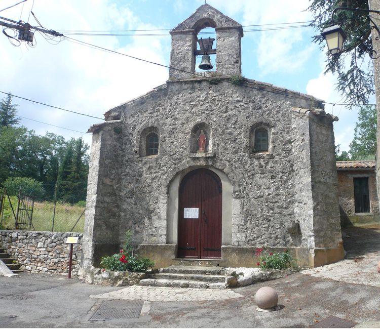 Chapelle de la miséricorde à Nans-les-Pins
