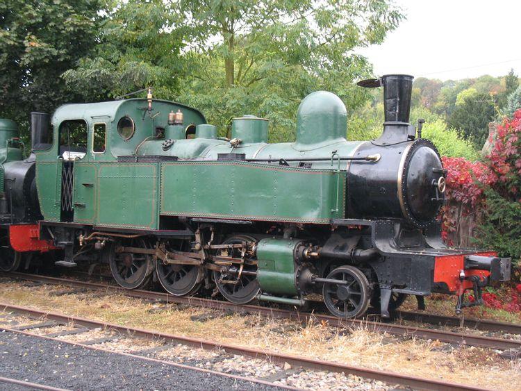 Locomotive à vapeur Decauville 130 T