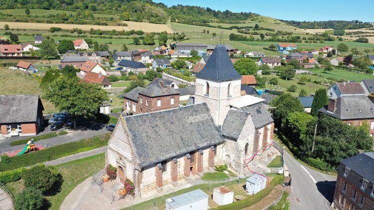 L'église Sainte-Marie-Madeleine de Douvrend