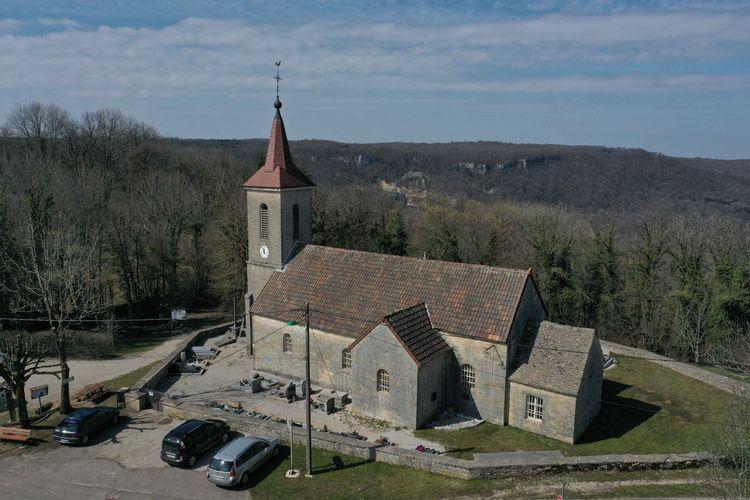 Eglise Saint Just à La Chatelaine