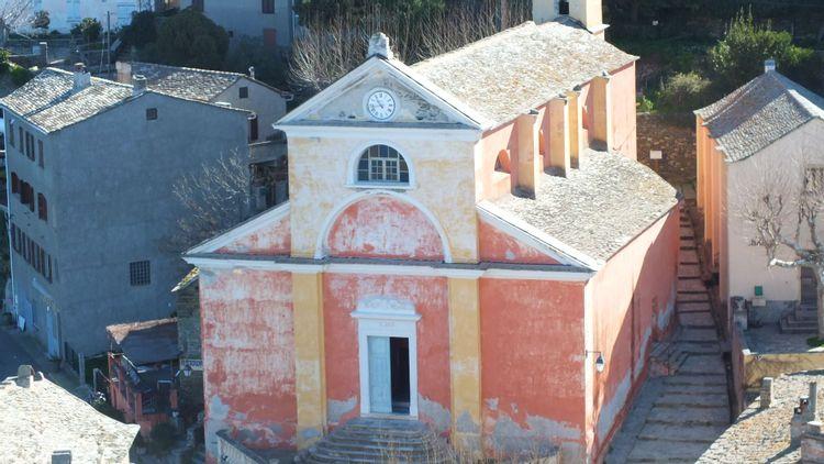 Sacristie de l'église Sainte-Julie de Nonza