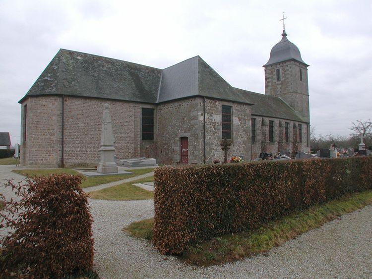 L'église de Saint-Charles-de-Percy à Valdallière