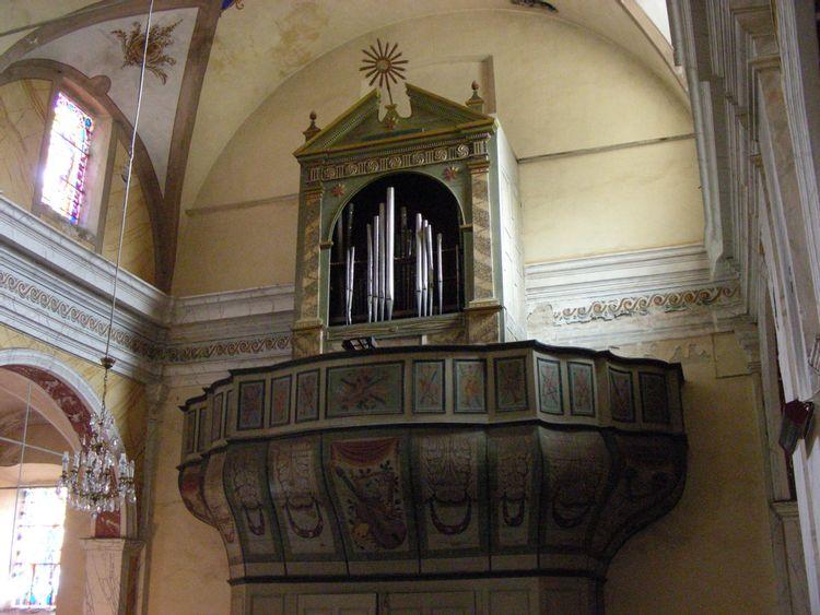 Orgue de tribune Santa-Maria en Haute-Corse