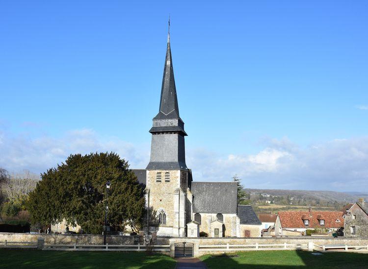 L'église de Saint-Aubin-sur-Gaillon