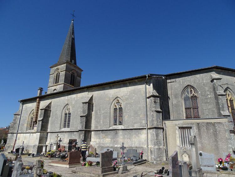Eglise Saint-Pierre-aux-Liens de Menaucourt dans la Meuse