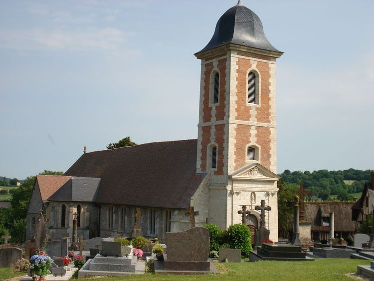 L'église Notre-Dame de Mesnil-sur-Blangy