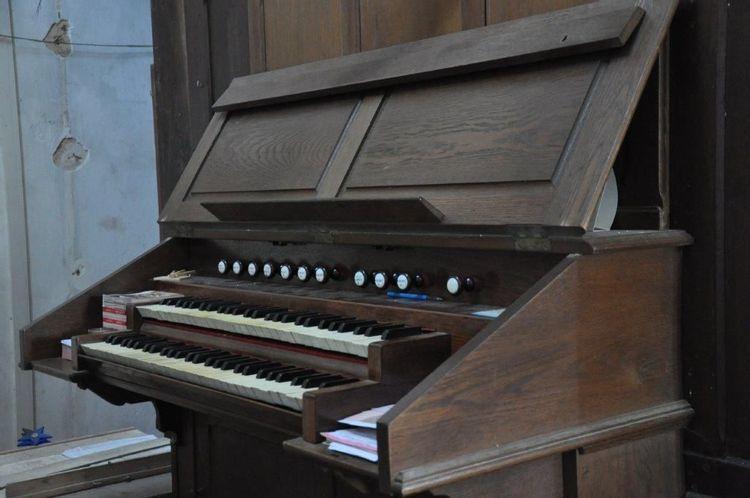 L'orgue de l'église Sainte-Marie-Madeleine de Rives d'Andaine