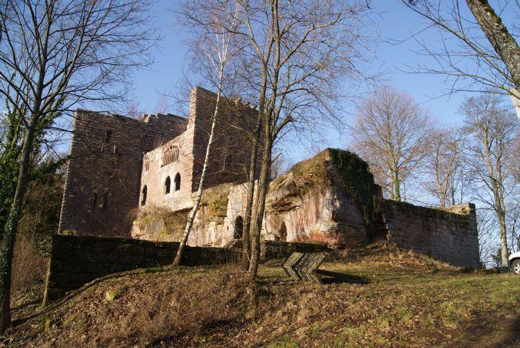 château de la wasenbourg à niederbronn-les-bains