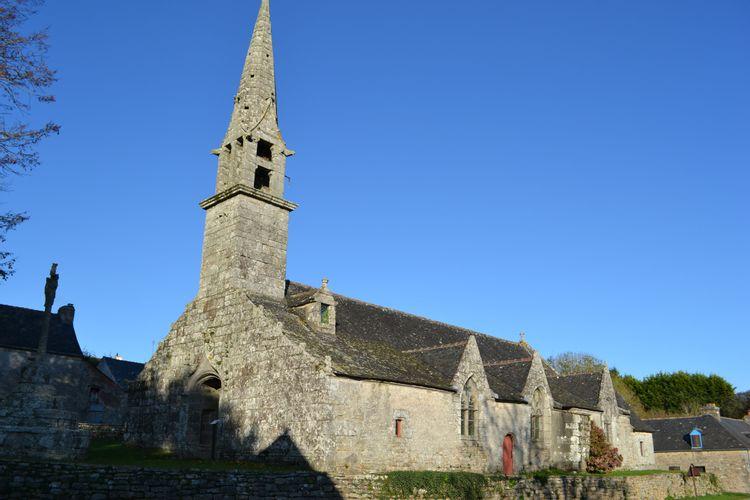 Chapelle de Locmaria à Saint-Yvi