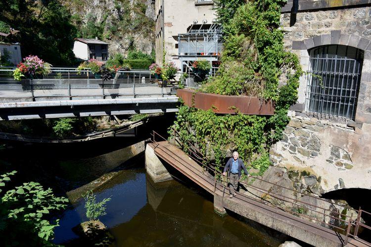 Pont de l'Epée et passerelles G. Trakas - Centre d'Art Contemporain du Creux de l'Enfer