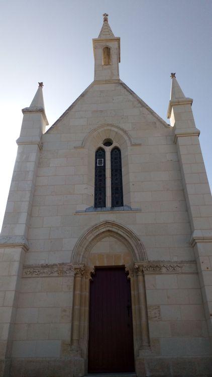 Fronton de la chapelle