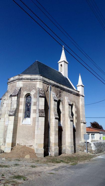 Arrière de la chapelle du Marillais