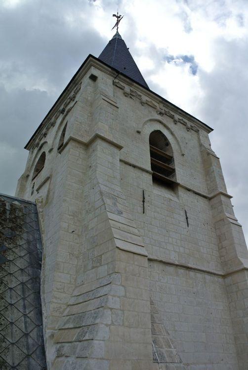 vue sur clocher restauré