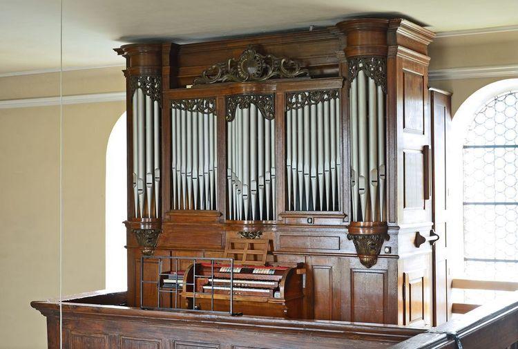 orgue silbermann de l'église protestante de mutterholtz