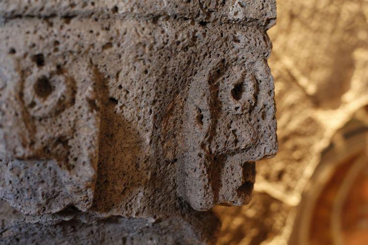 Chapiteau de l'église de sainte-Anastasie