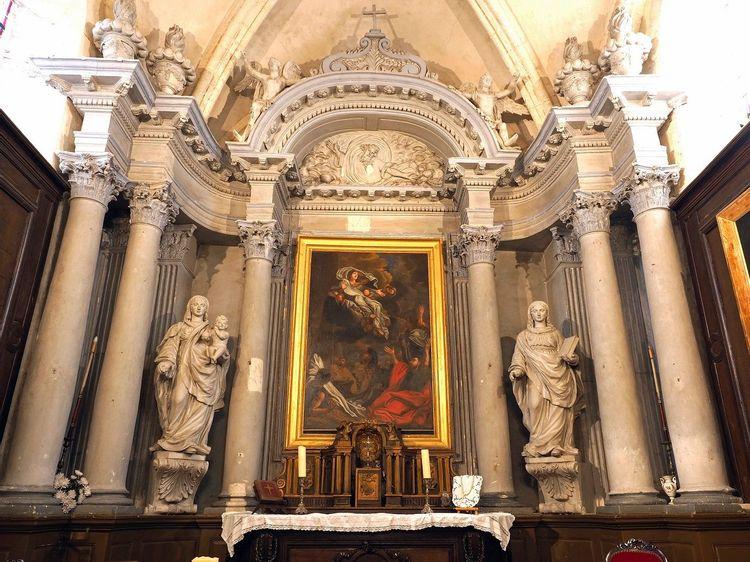 Retable- Eglise Notre-Dame de l'Assomption à Autouillet