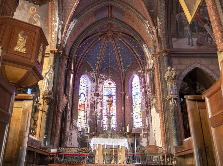 l'église saint-martin de chevresis-monceau
