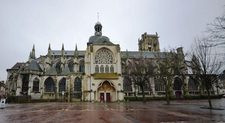 L'église Saint-Jacques de Dieppe
