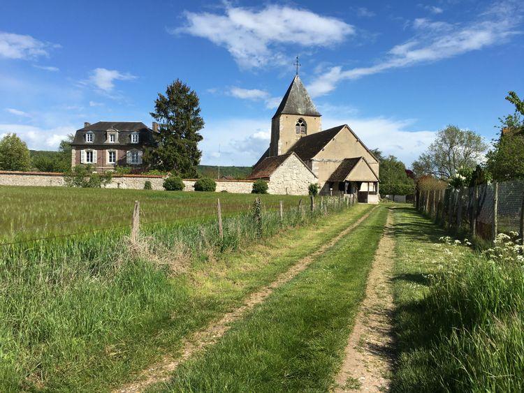 L'église de Notre-Dame-de-l'Isle