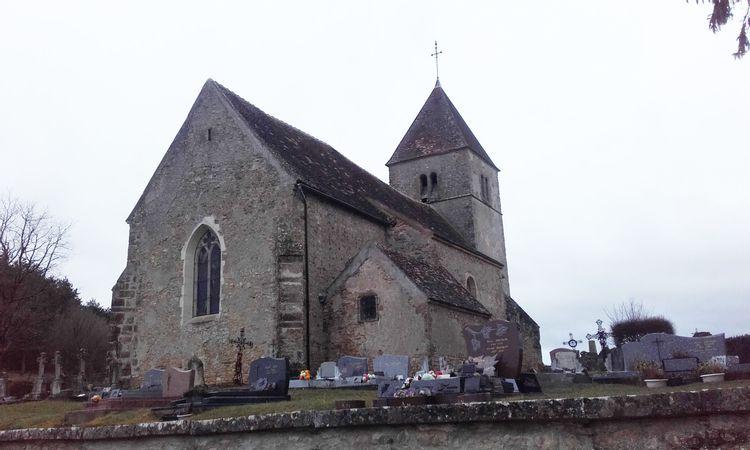 Eglise de Saint-Aubin-des-Chaumes