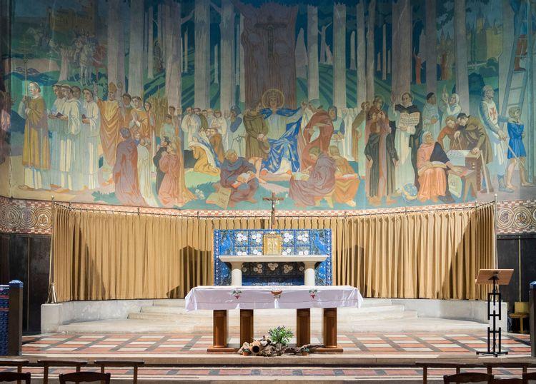 Autel, église Saint-Louis à Vincennes