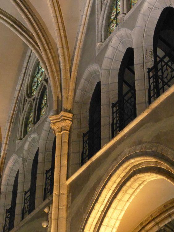 Nef centrale - Eglise Saint-Nicolas de Saint-Maur-des-Fossés