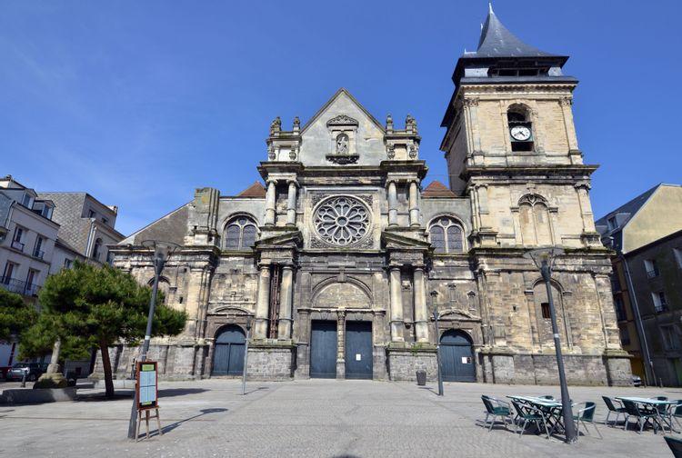 L'église Saint-Rémy de Dieppe