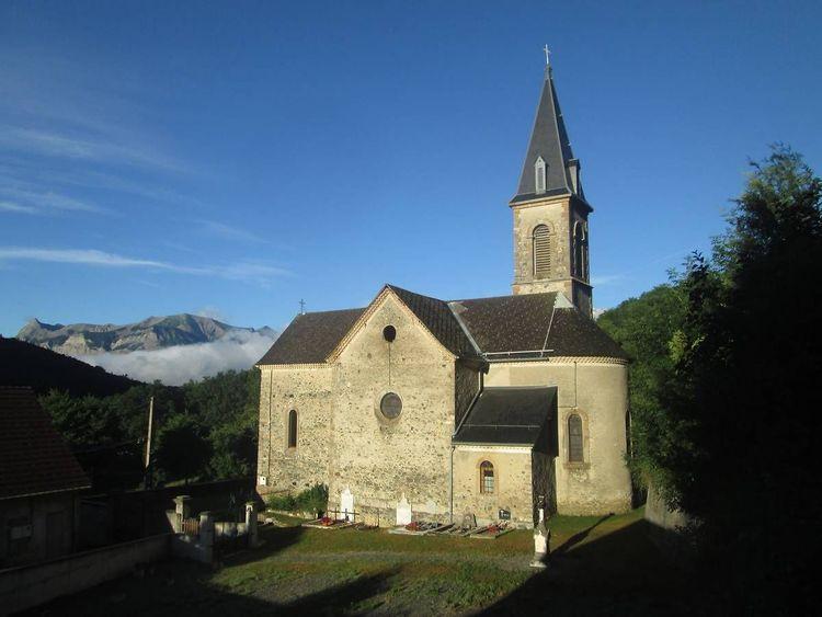 Eglise de la Transfiguration à la Motte-en-Champsaur
