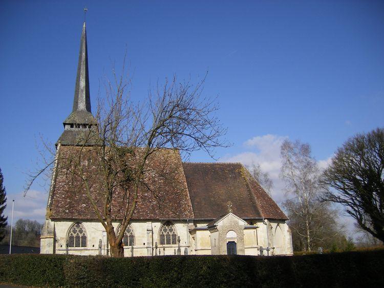 L'église Saint-Jean-Baptiste de Manerbe