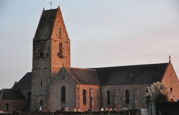 L'église Notre-Dame et Saint-Firmin de Valcanville