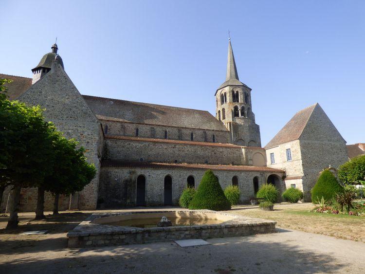Abbatiale Saint-Pierre-Saint-Paul d'Évaux-Les-Bains