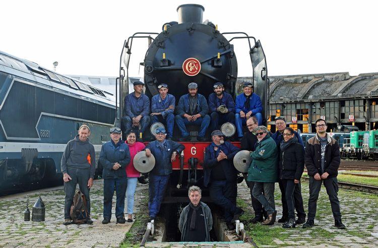 La locomotive à vapeur « Pacific 231 G 558 » de Sotteville-lès-Rouen
