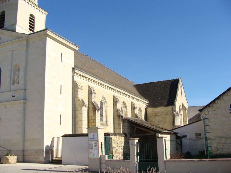 Eglise Saint Dpucelin à Allonnes
