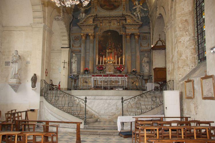 La chapelle de l'ancienne abbaye royale de Valognes