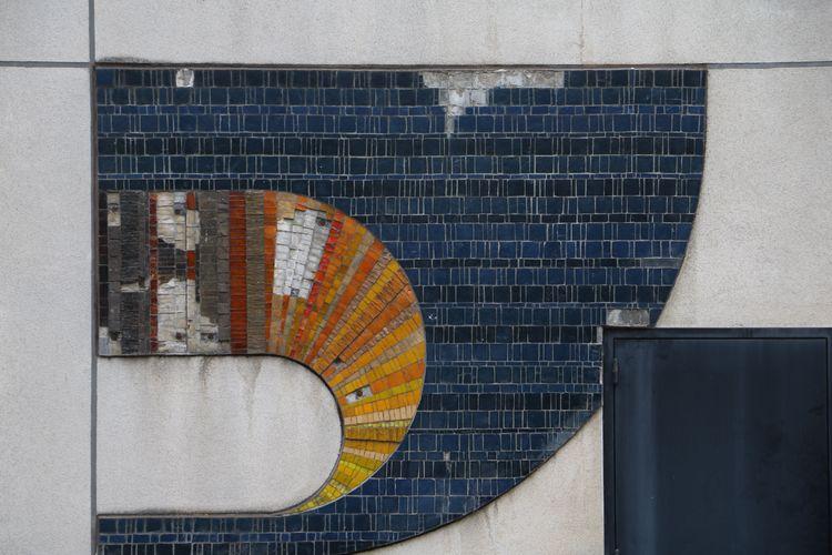 Fresque de l'espace des arts de Chalon-sur-Saône