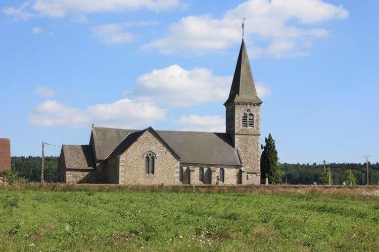 L'église Notre-Dame de Fontenai-Les-Louvets (L'Orée-d'Écouves)
